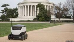 Robot không người lái vận chuyển thực phẩm và những thứ khác nữa